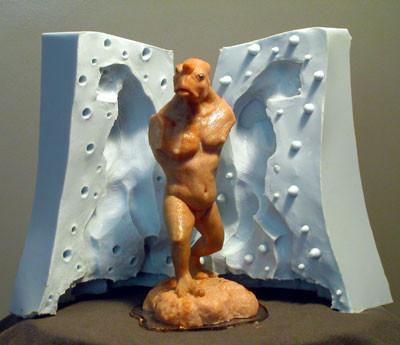 Мелкосерийное производство моделей с помощью литья в гибкие силиконовые формы